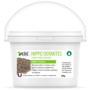 Hippo Dermites – Dermite estivale Cheval – Complément enrichi à base de plantes