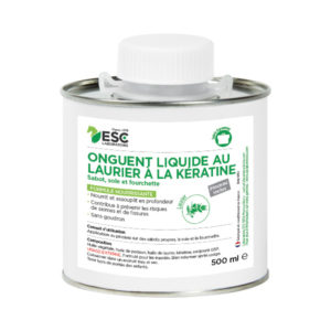 Onguent nutrition kératine liquide pinceau inclus – corne sèche et cassante