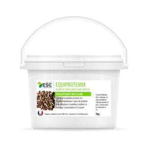 Equiprotemix – Développement musculaire cheval – Complément enrichi source de protéines