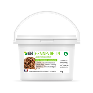Graines de Lin – Digestion cheval – Graines non cuites