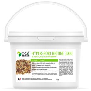 Hypersport biotine 3000 – Biotine cheval – Formule concentrée 3000mg/kg