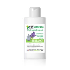 Shampoing brillance – Soin nettoyant crins cheval – Enrichi en huiles essentielles
