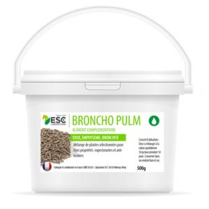 Broncho Pulm – Toux grasse et mouchage cheval – Complément enrichi à base de plantes