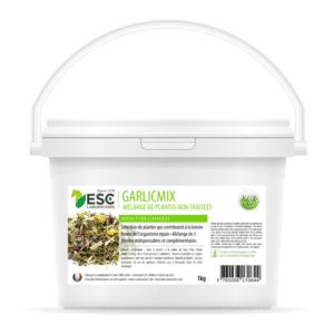 Garlic Mix – Ail Ortie Artichaut – Mélange de plantes cheval