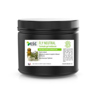Fly neutral gel – Gel insectes cheval – À base d'huiles essentielles