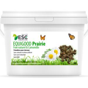 Equigood Prairie – Friandises naturelles pour chevaux à base de foin de prairie