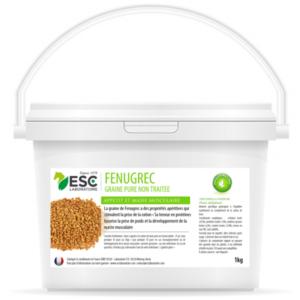 Fenugrec – État et muscles cheval – Source de protéines