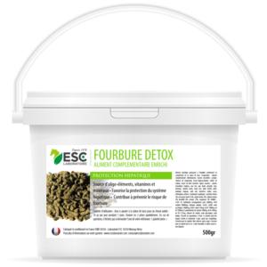 Fourbure Detox – Complément enrichi à base de plantes draînantes – Fourbure cheval