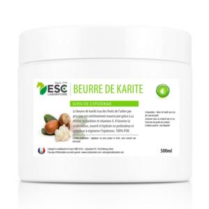 Beurre de Karité – Pur et riche en vitamines A et E – Nourrit et protège l'épiderme du cheval