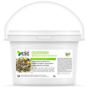 Equidermix – Démangeaisons et allergies cheval – Mélange de plantes