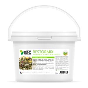 Restormix – Etat général et prise de muscle cheval – Mélange de plantes source de protéines