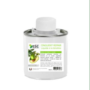 Onguent repair liquide à base d'huiles végétales et enrichi à la kératine – Risques de seime et fissures