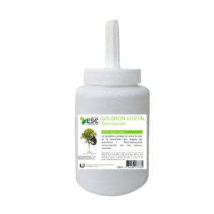 Goudron végétal origine France – Protection de la corne – Pinceau inclus